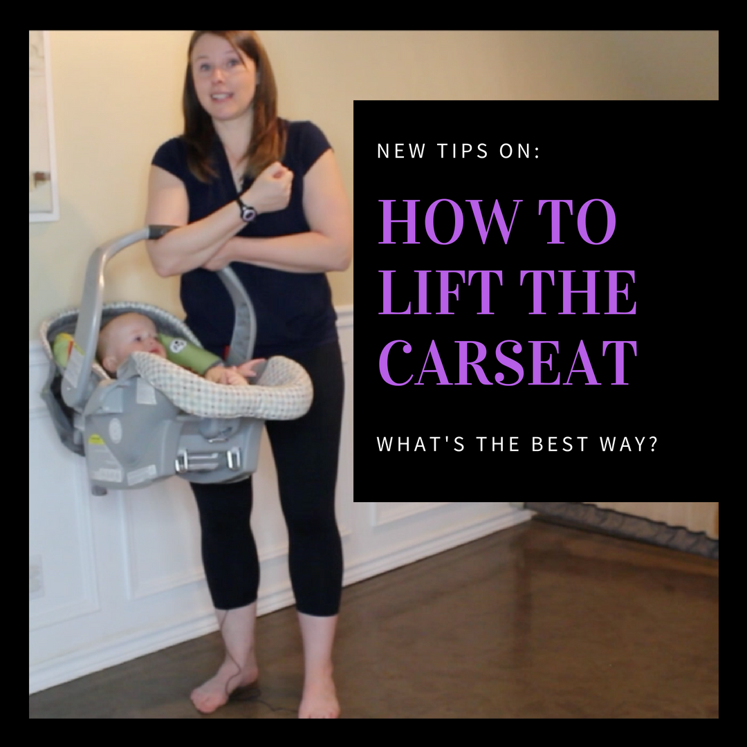 Lifting Carseat Bucket Prolapse