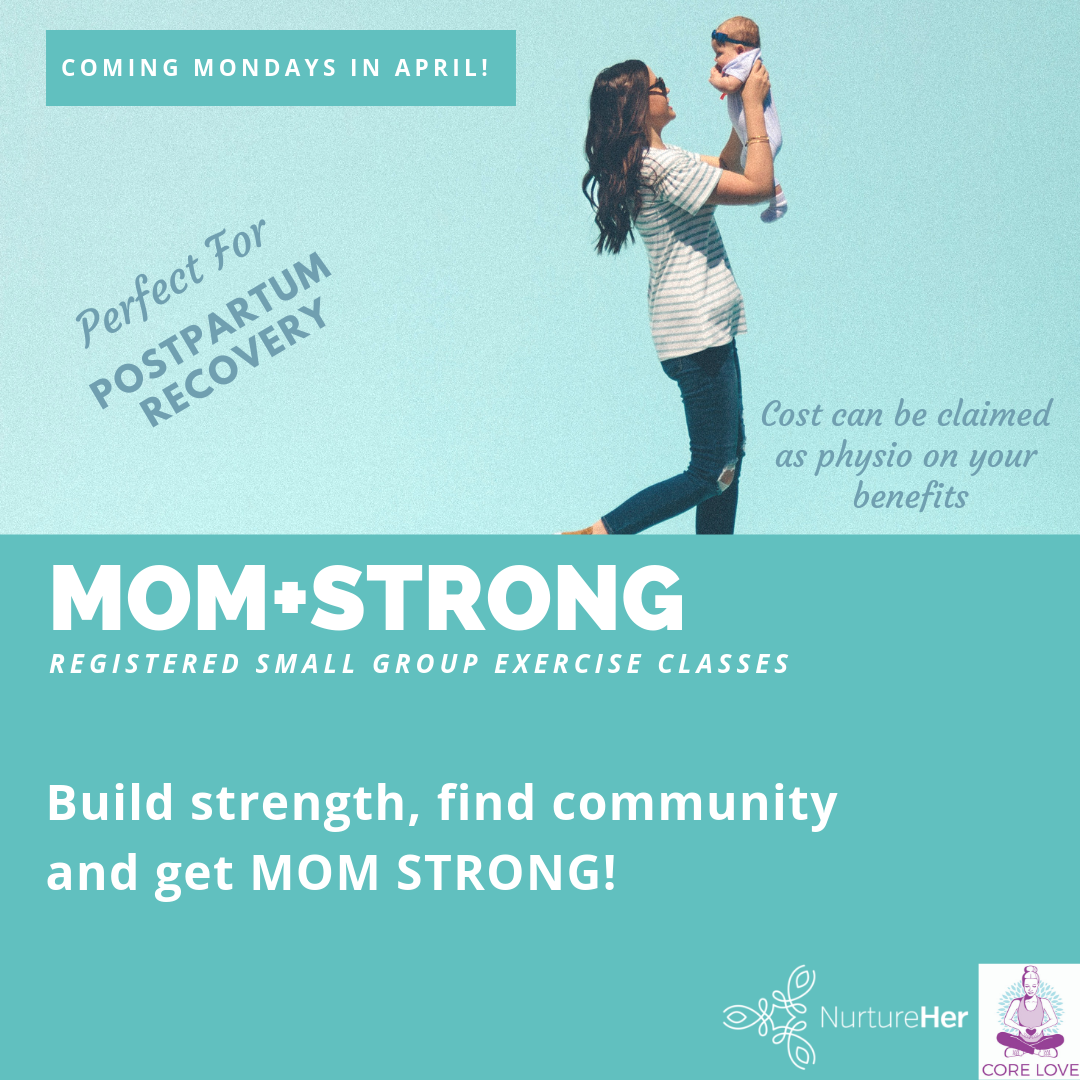 strength motherhood mom mother mama exercise postpartum physio